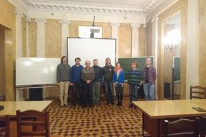 после лекции Михаила Николаевича